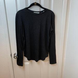 NWT Vince Black Long Sleeve Tee Shirt. Size S